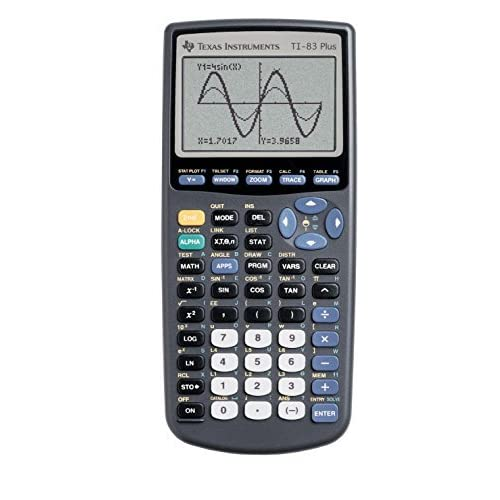 Image 0 of Texas Instruments TI-83 Plus Graphing Calculator Teacher Pack Of 10