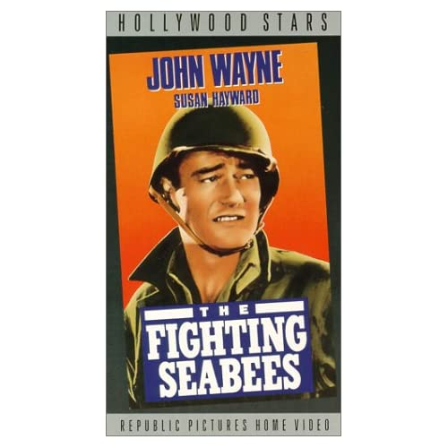 Image 0 of Fighting Seabees On VHS With John Wayne