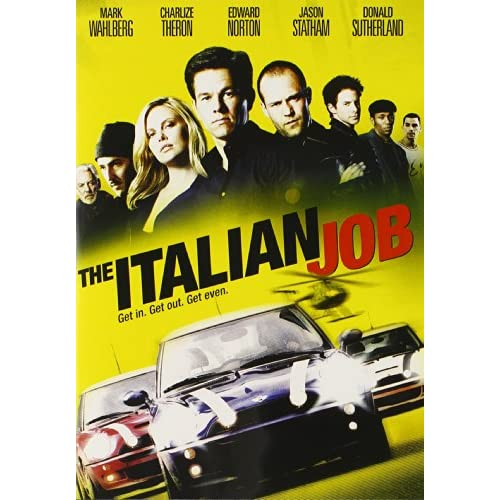 Image 0 of The Italian Job On DVD With Donald Sutherland