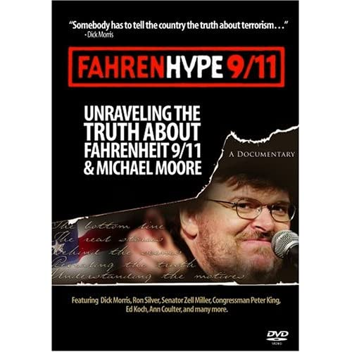 Image 0 of Fahrenhype 9/11 On DVD with Dick Morris