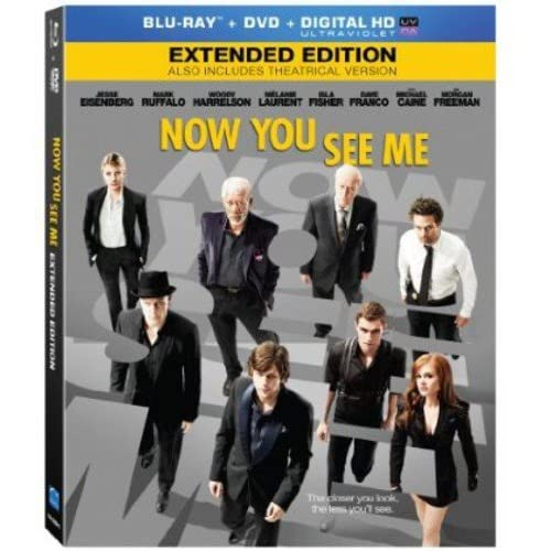 Image 0 of Now You See Me Blu-Ray DVD Digital On Blu-Ray With Jesse Eisenberg Drama