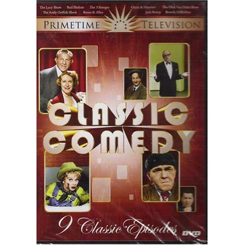 Image 0 of Classic Comedy On DVD