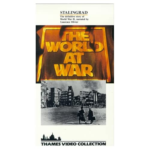 Image 0 of World At War:Stalingrad/Slipsleeve On VHS With Laurence Olivier