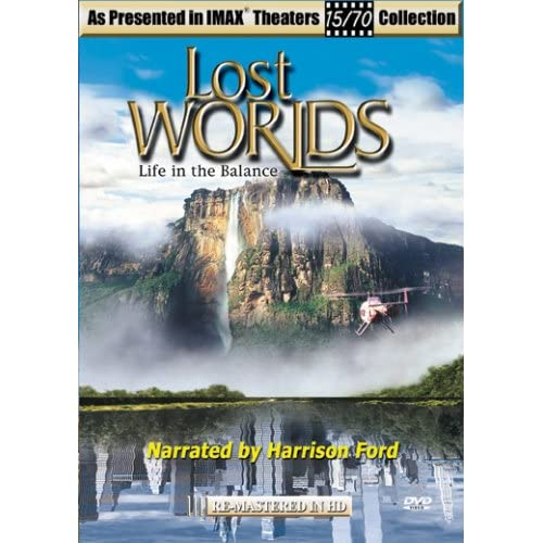 Lost Worlds: Life In The Balance On DVD with Harrison Ford