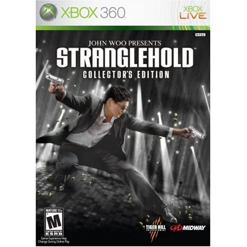 Shooting Games For Xbox 360 : Stranglehold edition for xbox shooter with manual and case