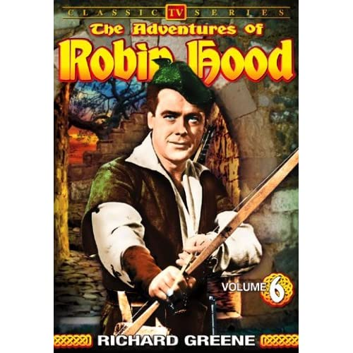 Image 0 of The Adventures Of Robin Hood Vol 6 On DVD With Richard Greene