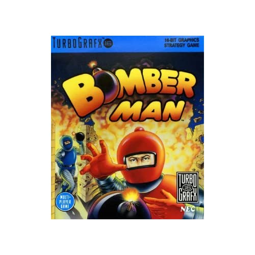 Bomberman Turbografx 16 For Turbo Grafx 16 Vintage Strategy