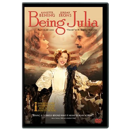 Image 0 of Being Julia On DVD With Annette Bening