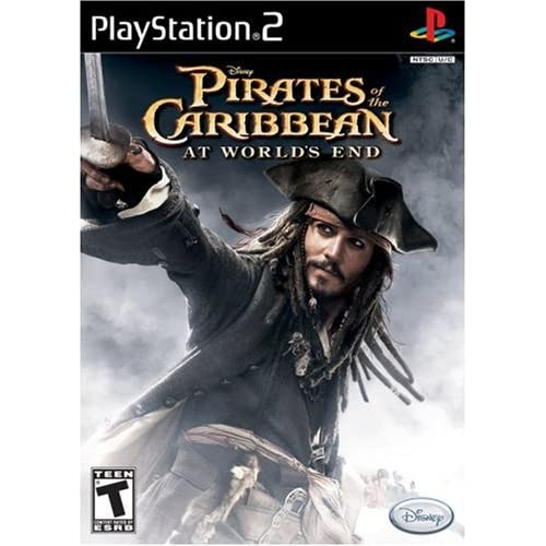 Pirates Of The Caribbean: At World's End For PlayStation 2 PS2 Disney