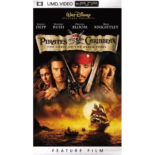 Image 0 of Pirates Of The Caribbean The Curse Of The Black Pearl UMD For PSP Disney