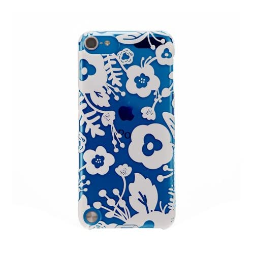 Image 0 of AGENT18 iPod Touch 5 Case Slimshield Clear / White Flowers Fitted