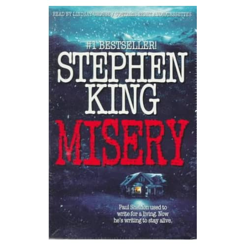 Image 0 of Misery By King Stephen Crouse Lindsay Reader On Audio Cassette