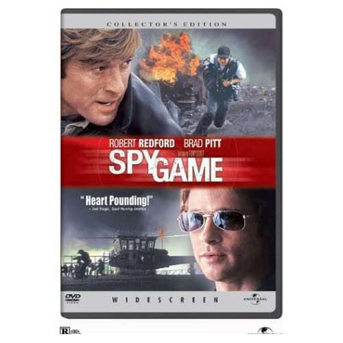 Image 0 of Spy Game Widescreen Edition On DVD with Robert Redford