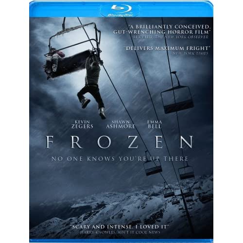 Frozen Blu-Ray On Blu-Ray With Shawn Ashmore