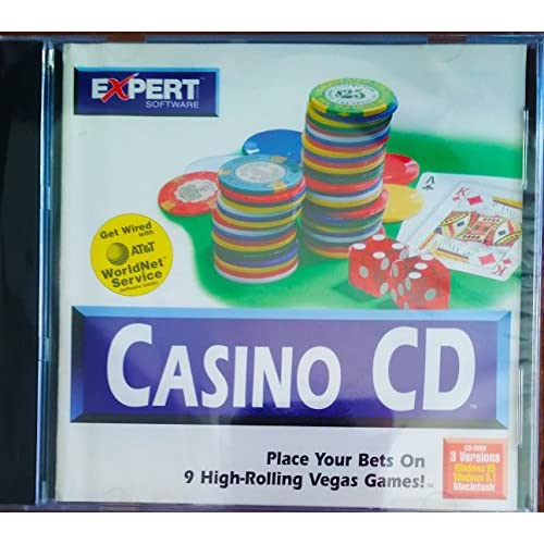 Casino CD-Rom Software PC Vintage