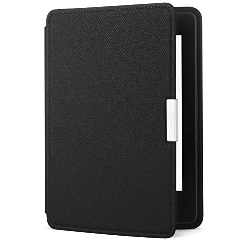 Amazon Kindle Paperwhite Leather Case Onyx Black Fits All Paperwhite