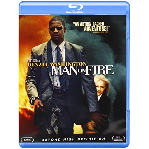 Image 0 of Man On Fire Blu-Ray On Blu-Ray With Denzel Washington