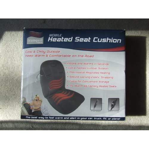 Image 0 of Heated Mobile Seat Cushion Car Adapter