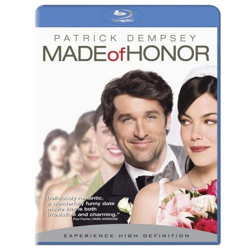 Made Of Honor Bd Live Blu-Ray On Blu-Ray With Patrick Dempsey Romance