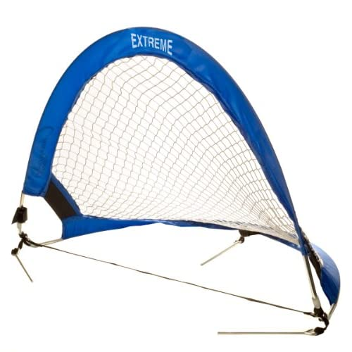 Champion Sports Extreme Soccer Portable Pop-Up Goal Blue