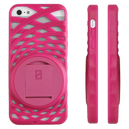 Image 0 of iPhone 5 5S SE Vortex Stand Case By Zerochroma Pink Cover Fitted