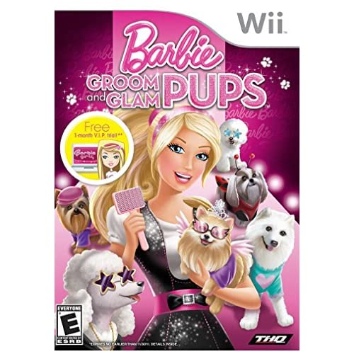 Image 0 of Barbie Groom And Glam Pups For Wii And Wii U