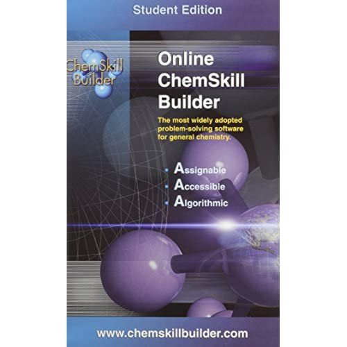Image 0 of ChemSkill Builder Online V.2 Student's Edition Password For Packages Software