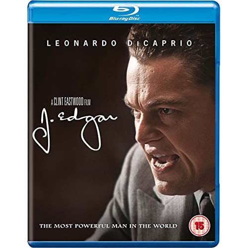 J Edgar 2012 Region Free On Blu-Ray