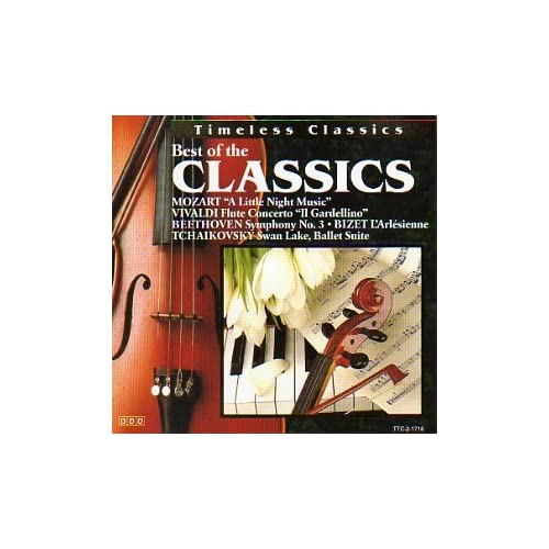 Image 0 of Best Of The Classics By Various Composer On Audio CD Album