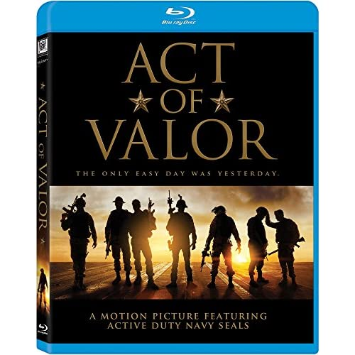 Image 0 of Act Of Valor Blu-Ray On Blu-Ray With Nestor Serrano