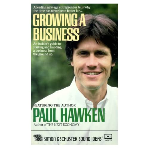 Image 0 of Growing A Business Cassette By Paul Hawken On Audio Cassette