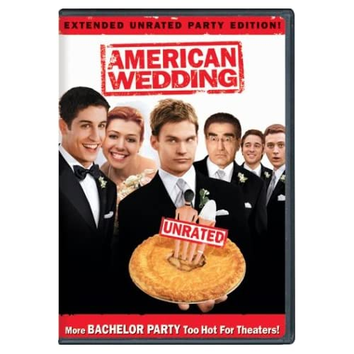 Image 0 of American Wedding Full Screen Extended Unrated Party Edition On DVD With Jason Bi