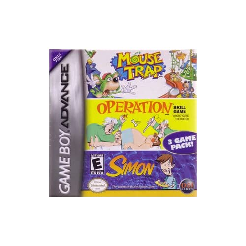 Image 0 of Mouse Trap / Operation / Simon For GBA Gameboy Advance Board Games