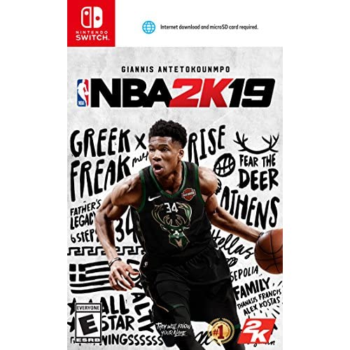 NBA 2K19 For Nintendo Switch Basketball