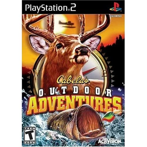 Cabela's Outdoor Adventure 2006 For PlayStation 2 PS2 With Manual and
