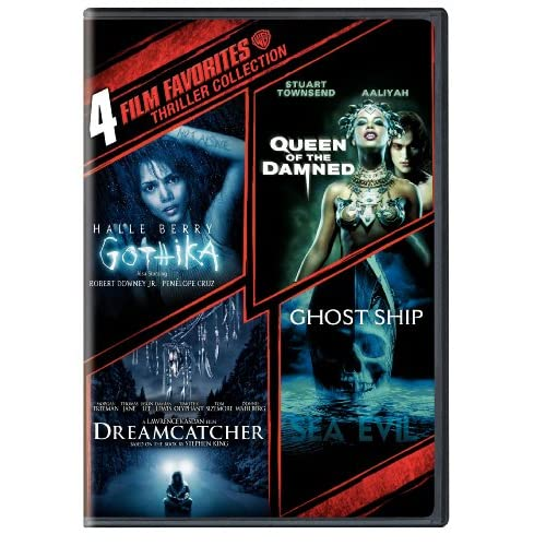 Image 0 of 4 Film Favorites: Thrillers Dreamcatcher Ghost Ship Gothika Queen Of The Damned