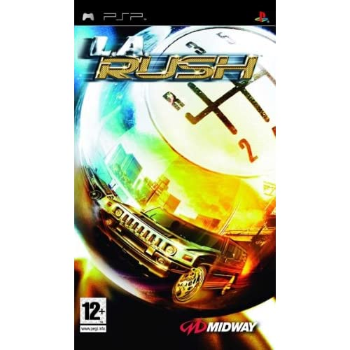 Image 0 of LA Rush: Showdown PSP By Midway Games Ltd For PSP UMD With Manual and Case