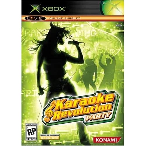 Image 0 of Karaoke Revolution Party For Xbox Original Music