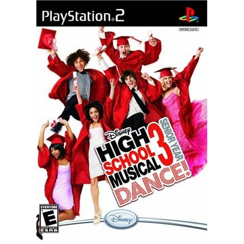 Image 0 of Disney's High School Musical 3: Senior Year Bundle With Mat For PlayStation 2 PS