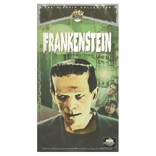 Frankenstein On VHS With Colin Clive