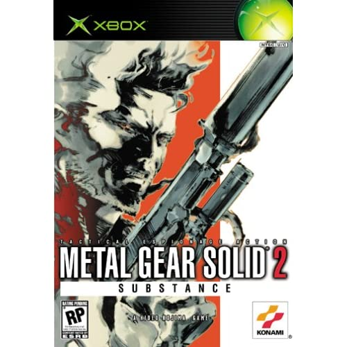 Image 0 of Metal Gear Solid 2: Substance For Xbox Original