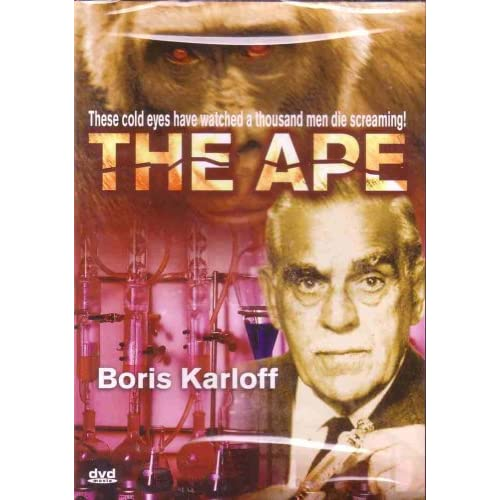 Image 0 of The Ape On DVD With Boris Carloff