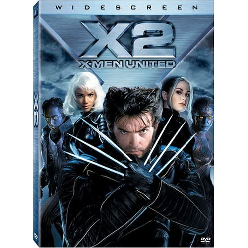 Image 0 of X2 X-Men United Widescreen Edition On DVD With Patrick Stewart