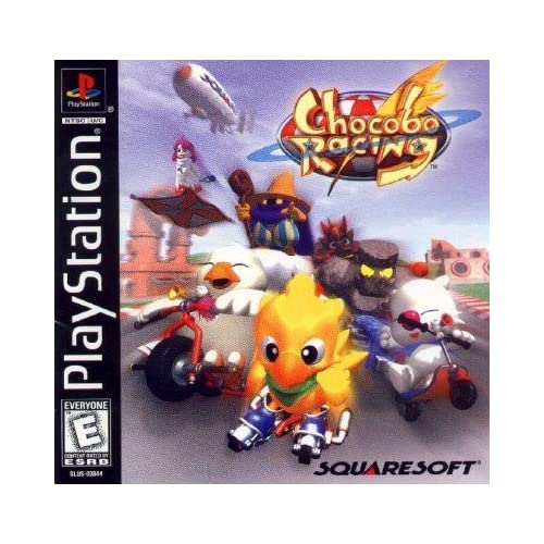 Image 0 of Chocobo Racing For PlayStation 1 PS1 With Manual and Case