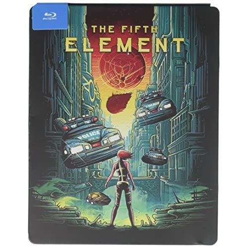 Fifth Element Steelbook Blu-Ray On Blu-Ray With Bruce Willis
