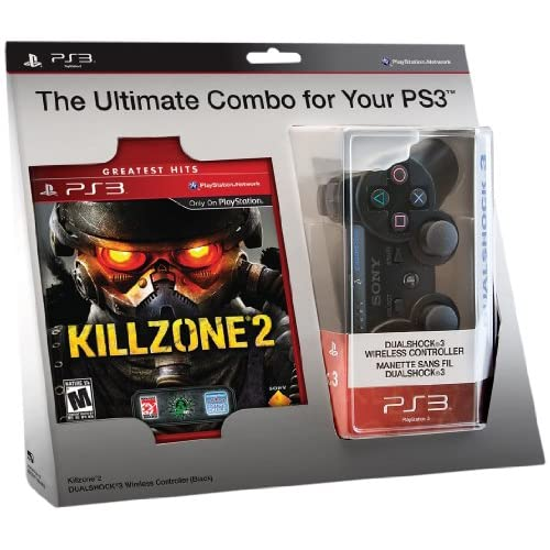 Image 0 of Killzone 2 And Black Dualshock 3 Wireless Controller Bundle PlayStation 3