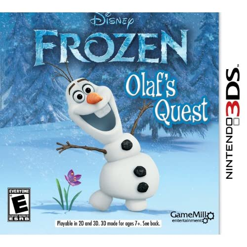 Frozen: Olaf's Quest Nintendo For 3DS
