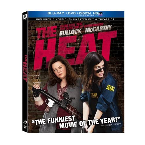 Image 0 of The Heat Blu-Ray DVD Digital HD On Blu-Ray With Sandra Bullock Comedy