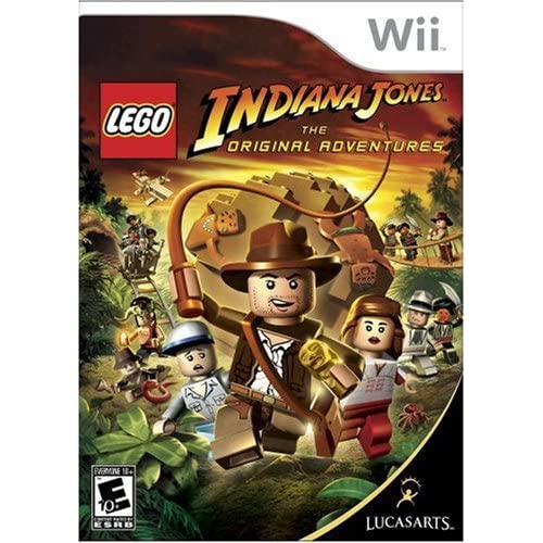 Image 0 of Lego Indiana Jones: The Original Adventures For Wii With Case