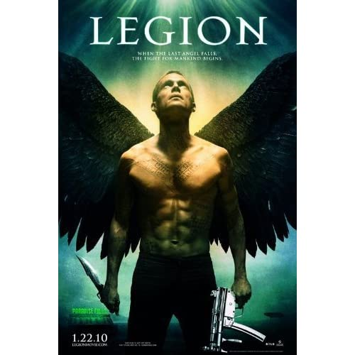 Image 0 of Legion Blu-Ray On Blu-Ray With Paul Bettany